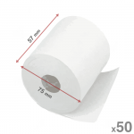 57mm x 75mm - 50 Pack